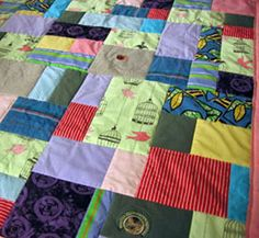 Memorial Quilt from JellyBeanQuilts.com
