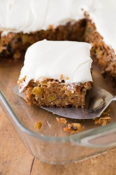 Carrot Cake is one of my most requested dessert recipes of all time. It's quick, incredibly moist, and homemade. This cake fully loaded with pineapple, coconut, walnuts and raisins and all topped off with cream cheese frosting.If you like carrot cake, you are going to love this easy, from scratch recipe!