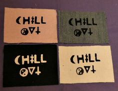Hey, I found this really awesome Etsy listing at https://www.etsy.com/listing/128002639/chill-out-patches
