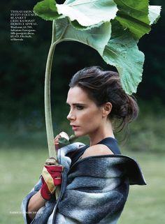 Vogue UK August 2014 | Victoria Beckham by Patrick Demarchelier [Editorial]
