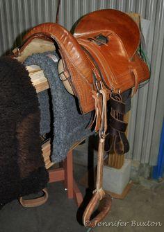 Gaucho/criollo saddle