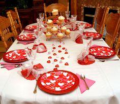 Family Valentines Dinner Idea
