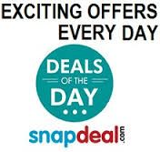 "snapdeal introduced ""DEAL OF THE DAY""  wherein you can grab your various products at an discounter rate on daily basis"