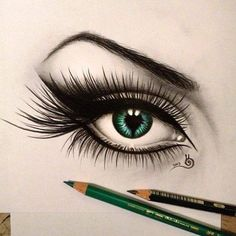 Beautiful Drawing of a eye