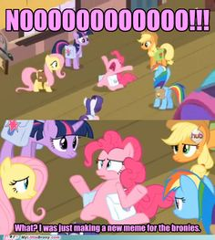 Very Considerate, Pinkie lol! :D #mlp
