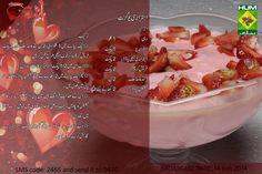 Sweet Dishes Recipes, Kitchen Recipes, Snack Recipes, Cooking Recipes, Pakistani Desserts, Pakistani Recipes, Masala Tv Recipe, Fruit Smoothie Recipes, Smoothies
