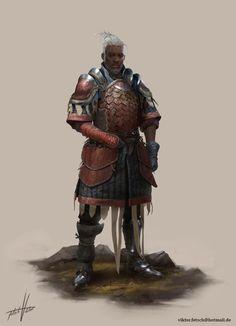 ArtStation - Dragon Knight, Viktor Fetsch