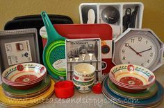 do's and don'ts of stocking a rv kitchen....I like the idea of tracking what you actually USE week in and week out.