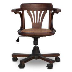 Hayes Office Chair - Wicker