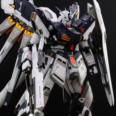 Custom Build: MG hi-nu Gundam Ver. Zone Of The Enders, Gundam Toys, Gundam Wing, Custom Gundam, Mecha Anime, Mechanical Design, Gundam Model, Mobile Suit, Godzilla