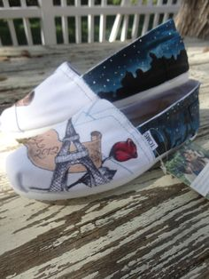 74a6db1483 65 Best Custom Painted Toms images