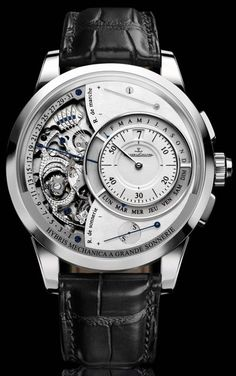 Watch - Jaeger LeCoultre Hybris Mechanica Grande Sonnerie www.ChronoSales.com for all your luxury watch needs, sign up for our free newsletter, the new way to buy and sell luxury watches on the internet. #ChronoSales