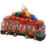 Radko Along for the Ride B & O Railroad Train Car Christmas Ornament Radko Christmas Ornaments, Train Ornament, Christopher Radko, Favorite Holiday, Decorative Boxes, Train Car, Ornaments, Decorative Storage Boxes