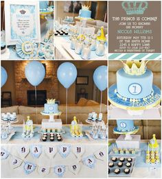Baby king baby shower