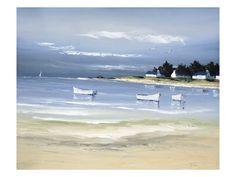 Ensenada costera II Lámina por Frederic Flanet en AllPosters.com.ar.