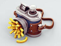 Los divertidos objetos 3D de Zhivko Terziivanov | OLDSKULL