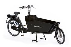 3375€ Biporteur électrique Classic long steps - BAKFIETS Siege Bebe, Velo Cargo, Wheelbarrow, Tricycle, Garden Tools, Motorcycle, Vehicles, Classic, Design