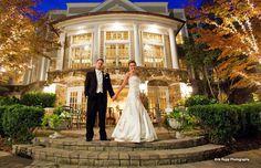 Wedding Venue - The stone courtyard at the Olde Mill Inn in Basking Ridge, NJ