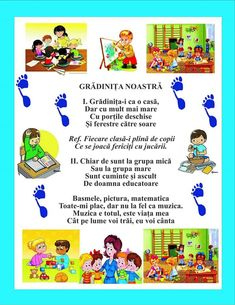 Experiment, Kindergarten, Kids Poems, Baby Cards, Nursery Rhymes, 1 Decembrie, Language, Parenting, Songs