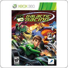 Xbox 360 Ben 10 Galactic Racing R$129.90