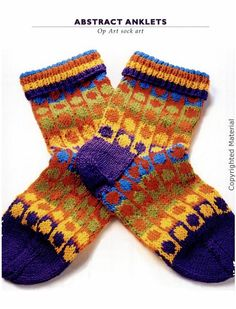 vogue knitting socks