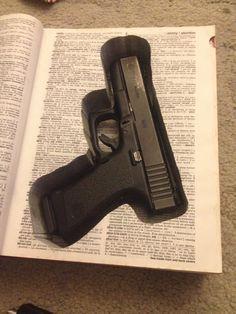 Book Gun Safe Made to order by 33rdStreetKnits on Etsy. Gun glock 1911 .22 hidden unique