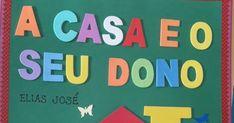 Livro artesanal confeccionado pela professora Janete Menezes. Education, Physical Activities For Kids, Activities For Toddlers, Tall Tales Activities, Science Education, Secondary School, Lyrics, Yearly, Onderwijs