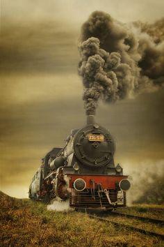 * Os tempos modernos destruíram a velha estação; O coração da velha locomotiva parou, Não bate mais nos trilhos de Rocha Leão. Texto de Marcelo Zacarelli - Do Poema: Estação Rocha Leão