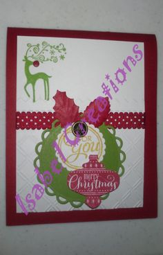 Christmas Paper Card