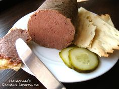 "Home Cooking In Montana: Homemade German Liverwurst... ""Pateu de Casa"""