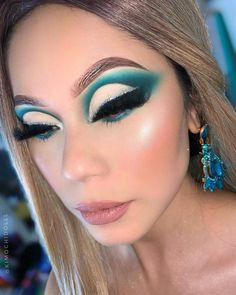 Edgy Makeup, Baddie Makeup, Makeup Eye Looks, Eye Makeup Art, Glamorous Makeup, Cute Makeup, Pretty Makeup, Eyeshadow Makeup, Eyeshadows