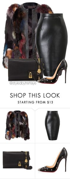 """Untitled #1223"" by tamararenaye ❤ liked on Polyvore featuring Tom Ford and Christian Louboutin"