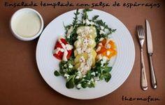 THERMOFAN: Ensalada templada con salsa de espárragos blancos (TMX / T)