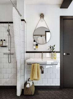 Bildresultat för halvkaklat badrum