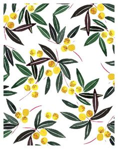 Madronyo, textile print for Uniqlo | Miss Capricho