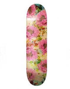 Mödernaked - Bloom Skate Board. // Exclusive Jewellery