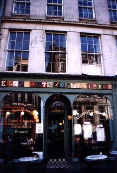 The coffeehouse where Harry Potter began.  Perth, Scotland.