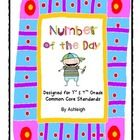 This is an awesome daily review activity that incorporates many of the 3rd and 4th grade common core standards.  Students work with a 4-digit numbe...