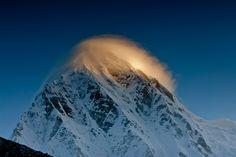 Sunrise on Mount Pumori (7,145m) - Everest Khumbu Region