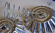 vintage tart tin flowers - Google Search