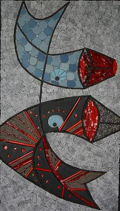 mosaic and co , sandrine daubrege ,mosaique contemporaine