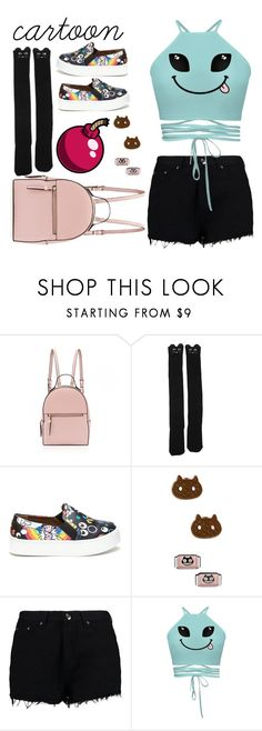 """We all love cartoons"" by indiemess1 ❤ liked on Polyvore featuring Cartoon Network and Boohoo"