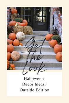 Get some farmhouse inspo for your farmhouse front porch this Halloween