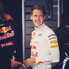 Sebastian Vettel - whether we like him or not we have to admit his is one hec of a driver and has immense talent
