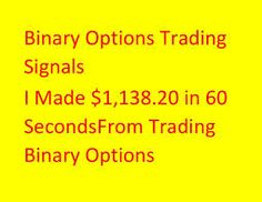 How to make money with binary options. you too can make good money trading, especially with our free signals.