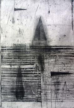 Glen Skein (Dry-point and aquatint)