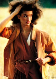 UK Vogue October 15th 1979 : Janice Dickinson by Mike Reinhardt