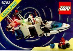 Sonar Transmitting Cruiser 6783 - Lego Instructions - Old Instructions Vintage Toys 80s, Vintage Lego, Birthday Bag, Lego Photo, Lego Construction, Lego Toys, Lego Group, Old Games, Childhood Toys