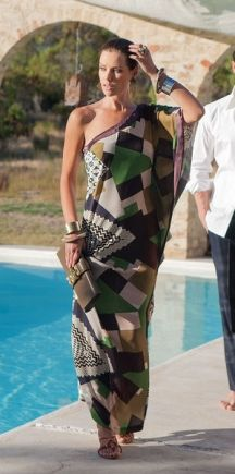 Tropical wing dress: Burda 6/2013 (judging by reviews, it seems to look more like an evening dress, great for a summer evening out)