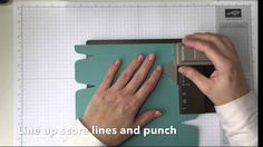 Project Go Create! Long Box with the Gift Bag Punch Board